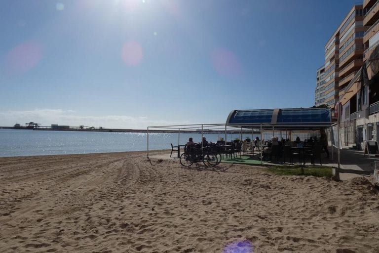 Torrevieja 1st line sea view apartment with pool for sale 4659